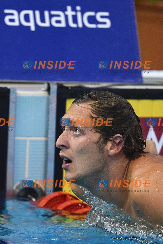 Amaury Leveaux France Men's 50m freestyle.Debrecen 26/5/2012 .31st European Swimming Championships - Nuoto.Foto Insidefoto / Andrea Staccioli