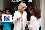 The Prince of Wales, and The Duchess of Cornwall begin a three day official visit to Morocco..The Duchess visits The Villa Des Arts, in Rabat