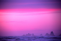 Rialto Beach Sunset, Olympic National Park, Washington, US