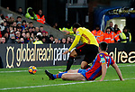Watford's Troy Deeney misses an open goal during the premier league match at Selhurst Park Stadium, London. Picture date 12th December 2017. Picture credit should read: David Klein/Sportimage