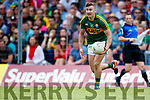 James O'Donoghue Kerry in action against  Cork in the Munster Senior Football Final at Fitzgerald Stadium on Sunday.