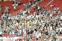BRASÍLIA, DF, 20.11.2015 - ABC-BOTAFOGO -   Jogadores do Botafogo durante partida contra o ABC, valido pela 37ª rodada do Campeonato Brasileiro série B no estádio Mané Garrincha em Brasília nesta sexta-feira, 20. (Foto: Ricardo Botelho/Brazil Photo Press)