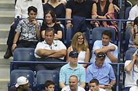 Chris Christie wife Mary Pat son Patrick<br /> Tennis US Open. 9-7-2018<br /> Photo by John Barrett/PHOTOlink