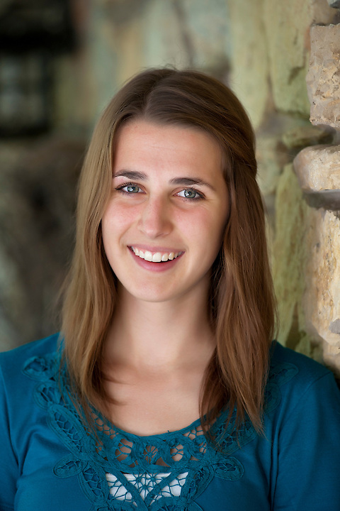 Colleen Moser is pictured during a senior portrait session at her home in Madison, Wis., during late summer on Sept. 11, 2011. Moser will be graduating with the Class of 2012 at James Madison Memorial High School. (Photo by Jeff Miller, www.jeffmillerphotography.com)