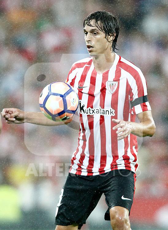 Athletic de Bilbao's Ander Iturraspe during La Liga match. August 28,2016. (ALTERPHOTOS/Acero)