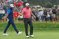 Graeme McDowell (NIR) after sinking his putt on 6 during round 2 of the 2019 US Open, Pebble Beach Golf Links, Monterrey, California, USA. 6/14/2019.<br /> Picture: Golffile | Ken Murray<br /> <br /> All photo usage must carry mandatory copyright credit (© Golffile | Ken Murray)