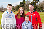 Jack O'brien, Orlaigh, Eoghan and Michael O'Brien Beaufort at the opening of Killarney House and gardens on Sunday