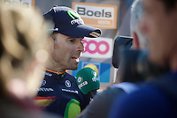 Alejandro Valverde (ESP/Movistar) interviewed by Sporza post-race<br /> <br /> Fl&egrave;che Wallonne 2016