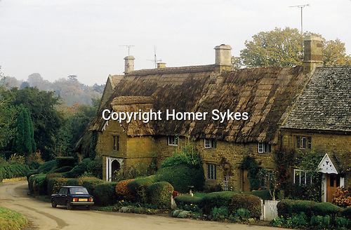 Great Tew Oxfordshire 1980s.