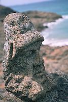 Europe/France/Bretagne/35/Ille-et-Vilaine/Saint-Malo/Rotheneuf: Rochers sculptés par l'Abbé Fouré