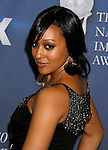 LOS ANGELES, CA. - February 12: Actress Tia Mowry arrives at the 40th NAACP Image Awards at the Shrine Auditorium on February 12, 2009 in Los Angeles, California.