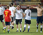 Stuart McCall and Barry Bannan at the end