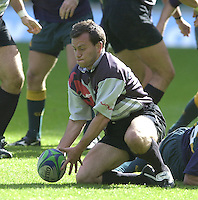 24/05/2002 (Friday).Sport -Rugby Union - London Sevens.Australia vs Georgia.Irakli Abuseridze[Mandatory Credit, Peter Spurier/ Intersport Images].