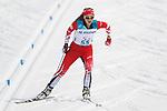 Ekaterina Rumyantseva (NPA), <br /> MARCH 12, 2018 - Cross-Country Skiing : <br /> Women's free 15 km Standing  <br /> at Alpensia Biathlon Centre   <br /> during the PyeongChang 2018 Paralympics Winter Games in Pyeongchang, South Korea. <br /> (Photo by Yusuke Nakanishi/AFLO)