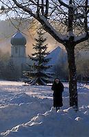 Europe/Allemagne/Forêt Noire/Hinterzarten : L'église