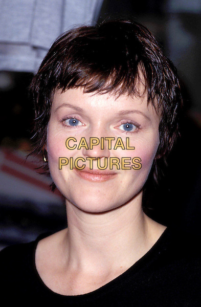 MIRANDA RICHARDSON.short brown hair, cropped hair, headshot, portrait.Ref: 237.www.capitalpictures.com.sales@capitalpictures.com.© Capital Pictures