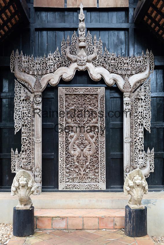 Thailand, Northern Thailand, Chiang Rai: House of national artist Thawan Duchanee   Thailand, Nordthailand, Chiang Rai: Haus des heimischen Kuenstlers Thawan Duchanee