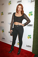 LOS ANGELES - FEB 6:  Courtney Hope at the 7th Annual  LANY Entertainment Mixer at 33 Taps Hollywood  on February 6, 2018 in Los Angeles, CA