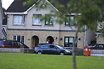 The scene in Termonabbey in Drogheda, the latest shooting in the feed that has been ongoing for the last number of months, One male is in hospital after the shooting.<br /> Picture www.newsfile.ie