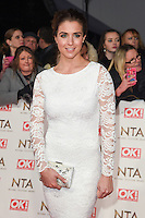 Gemma Atkinson<br /> at the National TV Awards 2017 held at the O2 Arena, Greenwich, London.<br /> <br /> <br /> &copy;Ash Knotek  D3221  25/01/2017