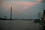 King Rama VIII Bridge  in Bangkok, Thailand
