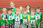 Pictured at the Kerry Community Games finals at Castleisland on Saturday were the St Brendan's team Caoimhe Lyons, Jack Doyle, Abbie Casey, Shane Kelly, Emily McElligott, Jason Casey, Catherine Duggan, Luke Casey and Scott Ryan. .