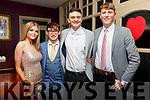 Beale GAA Social : Attending the Bealem  GAA club social at Kilcooley's Country House, Ballybunion on Saturday night last were Sarah Cantillon, Andrew O'Connor, Conor Breen & Diarmuid O'Mahony.