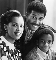 The Kid Who Loved Christmas (1990)<br /> Promo shot of Vanessa Williams, Michael Warren &amp; Trent Cameron<br /> *Filmstill - Editorial Use Only*<br /> CAP/KFS<br /> Image supplied by Capital Pictures