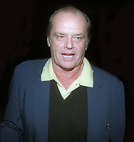 Jack Nicholson 1998<br /> Photo By John Barrett/PHOTOlink
