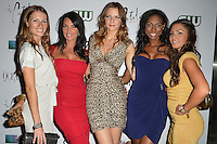 MIAMI BEACH, FL - MAY 22: Victoria Serra, Stephanie Andron, Morgan More, Denia Hall and Karina D'Erizans attend The Catalina reality show premiere party at Catalina Hotel on May 22, 2012 in Miami Beach, Florida. (photo by: MPI10/MediaPunch Inc.)