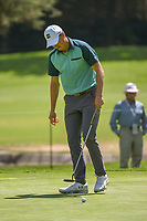 Jordan Spieth (USA) barely misses his birdie putt on 15 during round 3 of the World Golf Championships, Mexico, Club De Golf Chapultepec, Mexico City, Mexico. 2/23/2019.<br /> Picture: Golffile | Ken Murray<br /> <br /> <br /> All photo usage must carry mandatory copyright credit (© Golffile | Ken Murray)