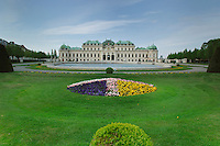 Garden of Belvedere Palace, Vienna, Austria