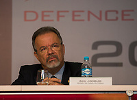 RIO DE JANEIRO, RJ, 04.04.2017 - LAAD-ABERTURA -  Ministro da Defesa Raul Jungmann participa da cerimônia de abertura da LAAD 2017, no Riocentro, Rio de Janeiro, nesta terça-feira, 04.(Foto: Clever Felix/Brazil Photo Press)