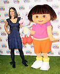 Salma Hayek at the Nickelodeon's Dora the Explorer 10th Anniversary Kick Off Press Conference held at Nickelodeon's Animation Studio in Burbank, California on March 02,2010                                                                   Copyright 2009  DVS / RockinExposures