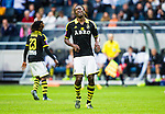 ***BETALBILD***  <br /> Stockholm 2015-07-30 Fotboll Kval Uefa Europa League  AIK - Atromitos FC :  <br /> AIK:s Dickson Etuhu ser uppgiven ut under matchen mellan AIK och Atromitos FC <br /> (Foto: Kenta J&ouml;nsson) Nyckelord:  AIK Gnaget Tele2 Arena UEFA Europa League Kval Kvalmatch Atromitos FC Grekland Greece depp besviken besvikelse sorg ledsen deppig nedst&auml;md uppgiven sad disappointment disappointed dejected