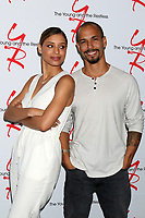 LOS ANGELES - JUN 23:  Brytni Sarpy, Bryton James at the Young and The Restless Fan Club Luncheon at the Marriott Burbank Convention Center on June 23, 2019 in Burbank, CA