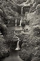 UmaUma Falls. Hawaii, THe Big Island.