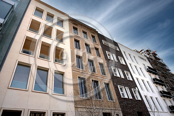 """BERLIN - GERMANY 14. MARCH 2007 -- Townhouses in the center of Berlin -- PHOTO: CHRISTIAN T. JOERGENSEN / EUP & IMAGES....This image is delivered according to terms set out in """"Terms - Prices & Terms"""". (Please see www.eup-images.com for more details)"""
