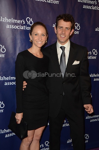 BEVERLY HILLS, CA: MARCH 9: Barrett Williams and Joey McIntyre at the 24th and final 'A Night at Sardi's' to benefit the Alzheimer's Association at The Beverly Hilton Hotel on March 9, 2016 in Beverly Hills, California. Credit: David Edwards/MediaPunch