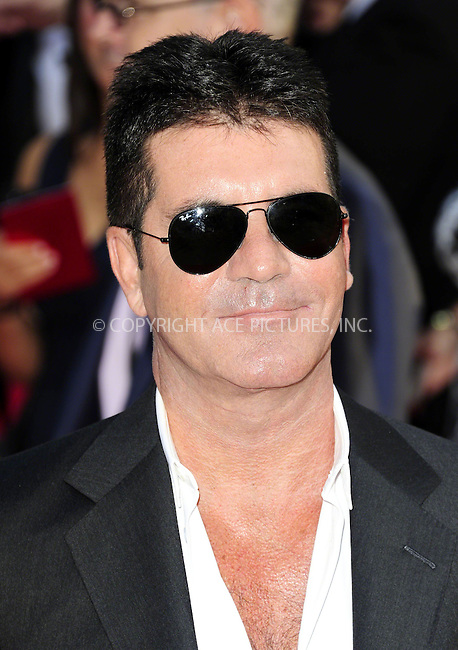 WWW.ACEPIXS.COM<br /> <br /> US Sales Only<br /> <br /> August 20 2013, London<br /> <br /> Simon Cowell at the World Premiere of 'One Direction: This Is Us' at the Empire Leicester Square on August 20 2013 in London<br /> <br /> By Line: Famous/ACE Pictures<br /> <br /> <br /> ACE Pictures, Inc.<br /> tel: 646 769 0430<br /> Email: info@acepixs.com<br /> www.acepixs.com
