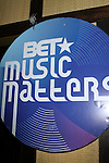 "Atmosphere at BET's Music Matters ""Best of 2012"" Holiday Showcase At S.O.Bs, NY  12/11/12"