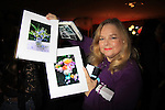 "Guiding Light Elvera Roussel ""Hope"" and her paintings at 9th Annual Daytime Stars & Strikes Charity Event to benefit The American Cancer Society on October 7, 2012 at Bowlmor Lanes Times Square, New York City, New York.  (Photo by Sue Coflin/Max Photos)"