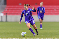 Bridgeview, IL, USA - Sunday, May 1, 2016: Orlando Pride midfielder Samantha Witteman (26) during a regular season National Women's Soccer League match between the Chicago Red Stars and the Orlando Pride at Toyota Park. Chicago won 1-0.
