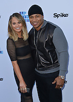 Chrissy Teigen + LL Cool J @ the 'Lip Sync Battle' event held @ the TV Academy Wolf theatre. June 14, 2016