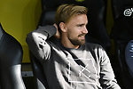 06.10.2018, Signal Iduna Park, Dortmund, GER, DFL, BL, Borussia Dortmund vs FC Augsburg, DFL regulations prohibit any use of photographs as image sequences and/or quasi-video<br /> <br /> im Bild Marcel Schmelzer (#29, Borussia Dortmund) nicht im Kader<br /> <br /> Foto &copy; nph/Horst Mauelshagen