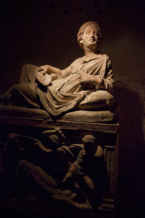 Etruscan Museum located in Chianciano, central Italy