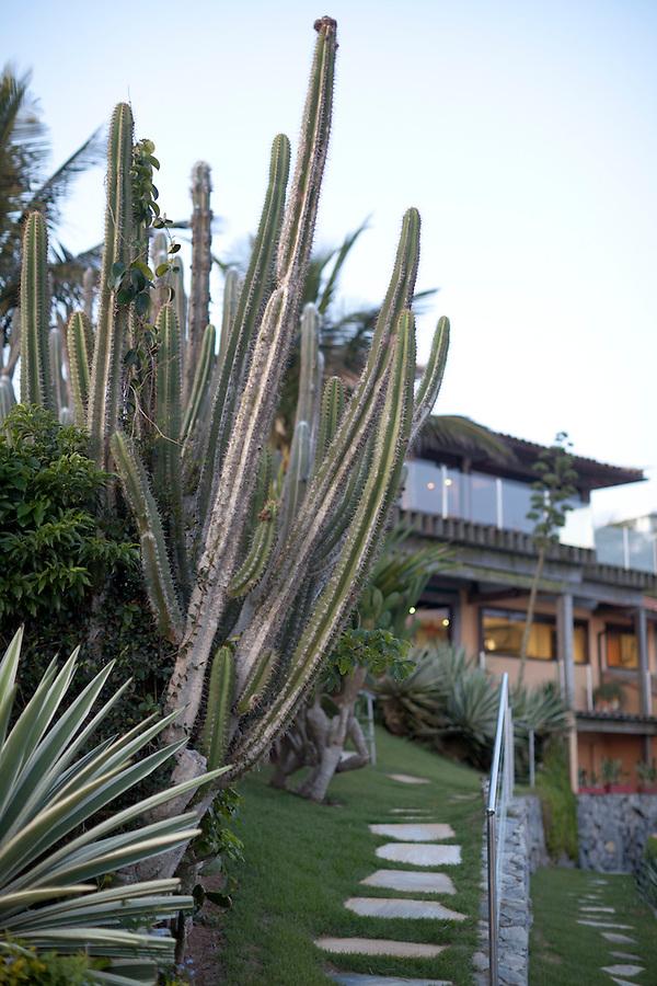 Cliffside Villa tucked away along a rugged coastline of Buzios.