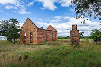 Stone Building Ruins in Pontotoc, TX