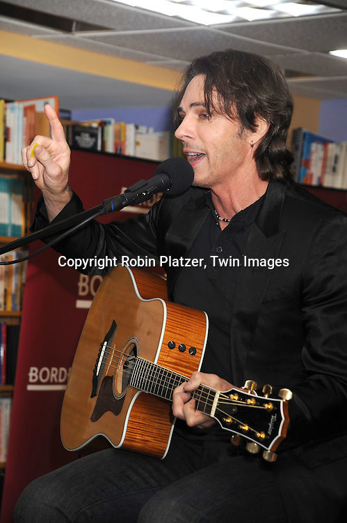 Rick Springfield singing
