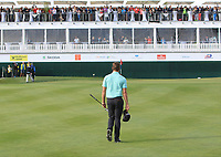 Haydn Porteous (RSA) walks onto the 18th green during Round 4 of the D+D Real Czech Masters at the Albatross Golf Resort, Prague, Czech Rep. 03/09/2017<br /> Picture: Golffile | Thos Caffrey<br /> <br /> <br /> All photo usage must carry mandatory copyright credit     (&copy; Golffile | Thos Caffrey)